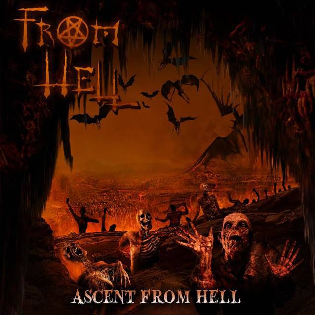 "From Hell: ""Ascent From Hell""-Cover"